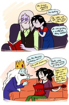 This is so cute. :) Adventure Time < cute? I actually find this sad as fuck xP lol