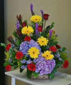 Funeral Flowers by your local Riverside Florist - Willow Branch Florist of Riverside http://www.floristofriverside.com/