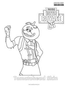 Tomatohead Skin Fortnite coloring pages printable and coloring book to print for free. Find more coloring pages online for kids and adults of Tomatohead Skin Fortnite coloring pages to print. Turtle Coloring Pages, Coloring Pages For Boys, Animal Coloring Pages, Coloring Pages To Print, Printable Coloring Pages, Colouring Pages, Free Coloring, Coloring Sheets, Coloring Books