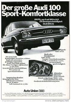 Original-Werbung/Inserat/ Anzeige 1968 - 1/1-SEITE - AUDI 100 - ca. 250 X 160 mm