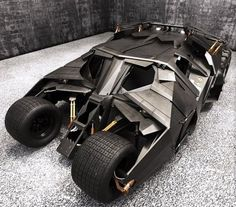 You will ❤ MACHINE Shop Café... (Batmobile via 'The Dark Night')