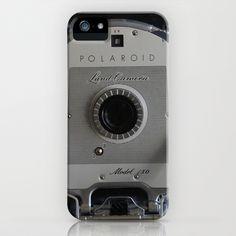 Polaroid Land Camera 150 iPhone Case by Veronica Ventress - $35.00
