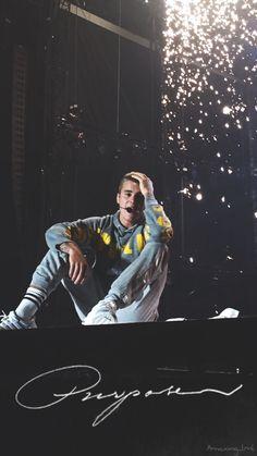 Justin Bieber Wallpaper Fondo de Pantalla Purpose 2017 tour dark black concierto concert