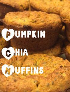 Pumpkin Chia Muffins with Chosen Foods