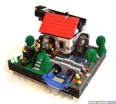 Lego Watermill