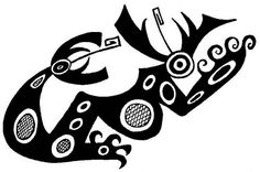 See related links to what you are looking for. Native American Animals, Old Symbols, Haida Art, Ethnic Patterns, Weird Art, Mark Making, Tribal Art, American Art, Cool Drawings