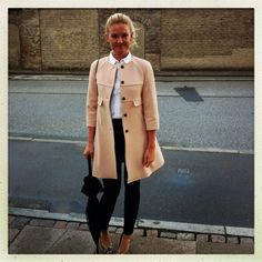 Pernille is a Danish PR agent I met in Copenhagen through my friend Trine. She has such great style.