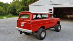 Image result for 1964 chevy carryall 4x4