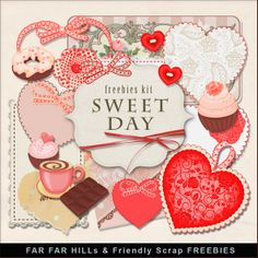 Scrapbooking TammyTags -- TT - Designer - Far Far Hill,  TT - Item - Kit or Collection, TT - Style - Mini Kit, TT - Theme - Love, Valentines, or Wedding