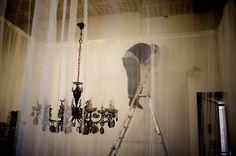 Accademia Carrara, preparativi per la mostra degli studenti