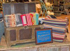 We now carry Pendleton Blankets at Teskey's!