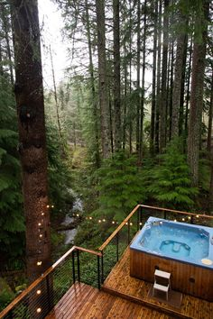 Surround Yourself With Nature at This Pacific Northwest Chalet Forest House, Cabins In The Woods, Oh The Places You'll Go, Dream Vacations, North West, My Dream Home, The Great Outdoors, Beautiful Places, Around The Worlds