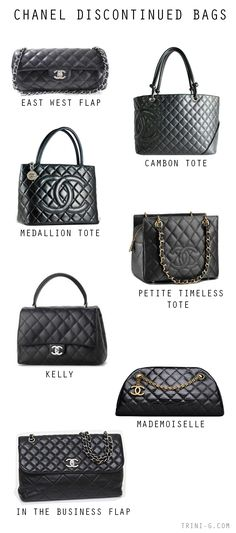 Trini blog | Chanel discontinued bags Clothing, Shoes & Jewelry : Women : Handbags & Wallets : http://amzn.to/2jBKNH8