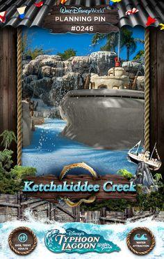 Walt Disney World Planning Pins: Ketchakiddee Creek