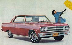 1965 Chevrolet Chevelle Malibu 2 Door Hardtop
