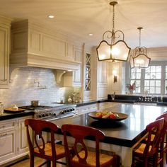 Moldings upper cabinets and ceilings on pinterest for Kitchen cabinets for 7 foot ceilings