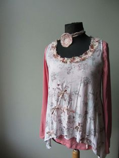 Upcycled Clothing / Tattered with Holes by GarageCoutureClothes