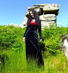 Eloweena Dress by Moonmaiden Gothic Clothing UK