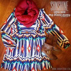 Walking On Sunshine Dress #JaneDivine