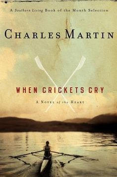 When Crickets Cry by Charles Martin.  It begins on the shaded town square in a sleepy Southern town. A spirited seven-year-old has a brisk business at her lemonade stand. Her latest customer, a bearded stranger, drains his cup and heads to his car. But the little girl's pretty yellow dress can't quite hide the ugly scar on her chest. And the beat-up bread truck careening around the corner with its radio blaring is about to change the trajectory of both their lives.