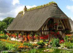 Chaumiere near Rouen, France