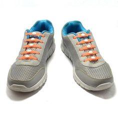 12pcs/set Light Elastic Silicone Shoelaces