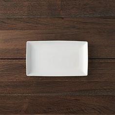"Rectangular 10""x5.75"" Plate | Crate and Barrel"