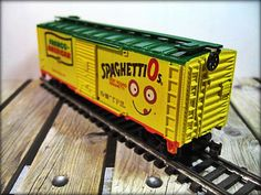 Spaghetti Os  HO Scale Train Car by Life Like by thevintageshop, $18.95