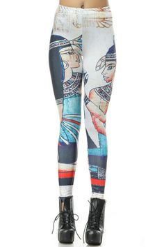 Indian Pattern Skinny Leggings