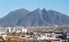 Monterrey, Nuevo León, México. Cerro de la Silla.