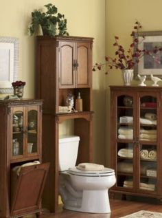 Seventh Avenue's bathroom storage cabinets help you define your bathroom style. You can afford bathroom space savers and furniture today with Seventh Avenue Credit. Storage Cabinets, Tall Cabinet Storage, Wall Cabinets, Bathroom Furniture, Home Furniture, Space Saving Shelves, Diy Casa, Victorian Bathroom, Rustic Bathrooms