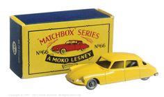 The South West Matchbox Collection | Regular Wheels | Vectis Toy Auctions Matchbox Regular Wheels No.66A Citroen DS