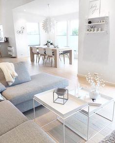 Amazing Diy Ideas: Minimalist Home Scandinavian Grey modern minimalist interior showers.Colorful Minimalist Home Scandinavian Interiors minimalist bedroom boho blue.Minimalist Home Design Room Ideas. Home, Minimalist Living Room, Living Room Scandinavian, House Interior, Interior Design, Living Decor, Minimalist Home, Scandinavian Design Living Room, Living Room Designs