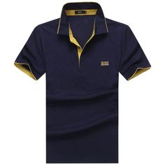 Hugo Boss mens shorts sleeve polos tshirts, 100% cotton shirts, good quality, big size