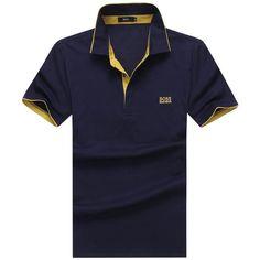 Hugo Boss mens shorts sleeve polos tshirts, 100% cotton shirts, good quality, big size