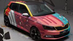 Skoda Fabia Art Car 00