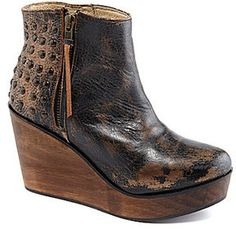 Bed Stu Ghent Wedge Booties on shopstyle.com