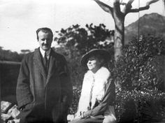 Daisy, Princess of Pless with Henry Clews