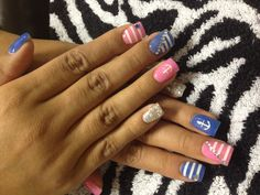 My Anchor Nails:) by: Chelsey