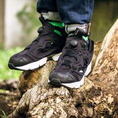 REEBOK INSTA PUMP FURY CORDURA BLACK/WHITE #sneaker