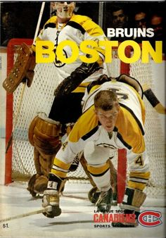 Gerry Cheevers and Bobby Orr