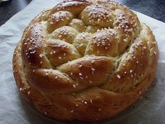 Frieda's brilliant yeast braid from lone_bohne German Baking, Yeast Bread, Baking And Pastry, Mets, Calories, Cakes And More, Bread Recipes, Bakery, Good Food