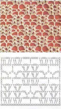 Watch This Video Beauteous Finished Make Crochet Look Like Knitting (the Waistcoat Stitch) Ideas. Amazing Make Crochet Look Like Knitting (the Waistcoat Stitch) Ideas. Filet Crochet, Crochet Motifs, Crochet Diagram, Crochet Stitches Patterns, Crochet Chart, Crochet Squares, Crochet Designs, Stitch Patterns, Crochet Poncho