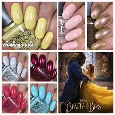 ehmkay nails: Morgan Taylor Beauty and the Beast Collection, Swa...