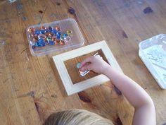 Glittering Shards: Making Mosaics with Children Part Six - suncatchers