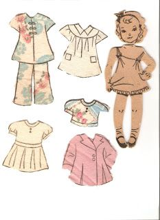 Miss Missy Paper Dolls: The Magic Doll for the Little Dressmaker