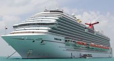 Carnival Magic Itinerary, Current Position