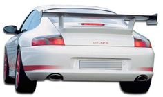 1999-2004 Porsche 996 C2 C4 Duraflex GT-3 RS Look Rear Bumper Cover - 1 Piece