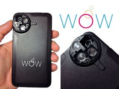 A new WoW iPhone Lens case has been developed by Justine Prior, which she has designed to help iPhone users take even more creative photographs quickly and conveniently.