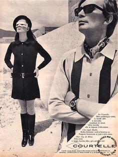 Elle Magazine (France), 17 October 1967. via Sweet Jane's Pop Boutique blog.